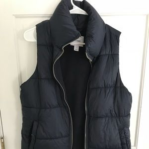 Old Navy vest navy blue